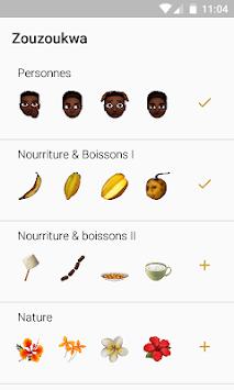 Zouzoukwa : African Stickers for WhatsApp APK screenshot 1