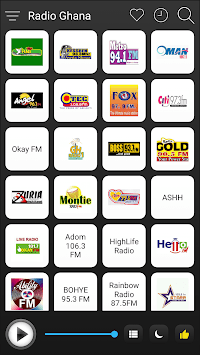 Ghana Radio Stations Online - Ghana FM AM Music APK screenshot 1