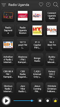 Uganda Radio Stations Online - Uganda FM AM Music APK screenshot 1
