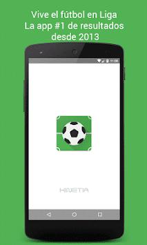 Liga - Live Football Scores APK screenshot 1