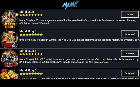 MAME Arcade - Super Emulator - Full Games APK screenshot 1