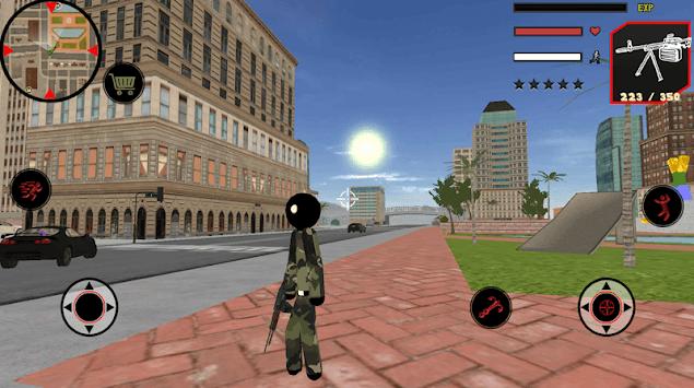 US Army Stickman Rope Hero counter terrorist APK screenshot 1