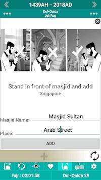 Islamic Calendar /Prayer Times /Ramadan /Qibla APK screenshot 1