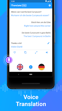 iTranslate Translator & Dictionary APK screenshot 1