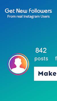 Get Followers + APK screenshot 1