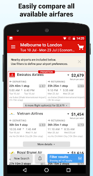 Webjet - Flights and Hotels APK screenshot 1