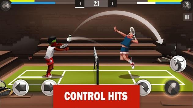 Badminton League APK screenshot 1