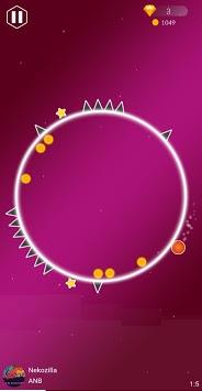 Beat Rolling: Rhythm Circle APK screenshot 1