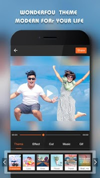 Beauty Video - Music Video Editor & Slide Show APK screenshot 1