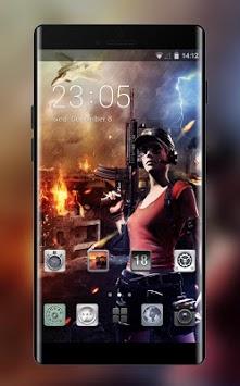 Beauty Sniper: Battlegrounds Survival Pubg Theme APK screenshot 1