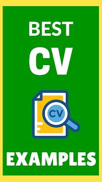 CV Examples 2018 APK screenshot 1