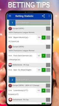 Betting Tips Stats Soccer bet daily Prediction Vip APK screenshot 1