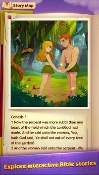 Bible Story Game - Free Bible Word Puzzle Games APK screenshot 1