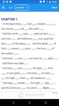 Bible Concordance - Strong's Concordance APK screenshot 1