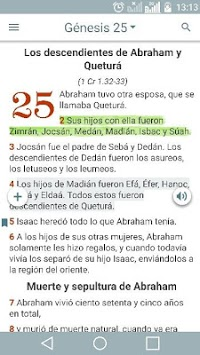 Biblia Dios Habla Hoy DHH APK screenshot 1