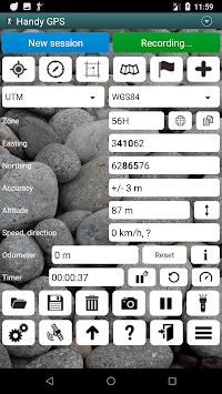 Handy GPS (subscription) APK screenshot 1