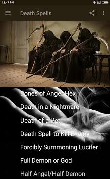 BLACK MAGIC: DEATH SPELLS APK screenshot 1