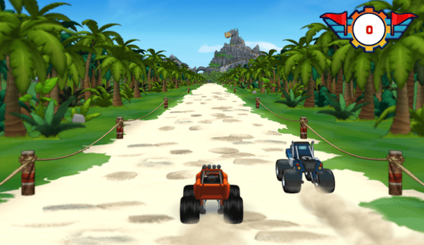 Dragon Island Race blaze Mission APK screenshot 1
