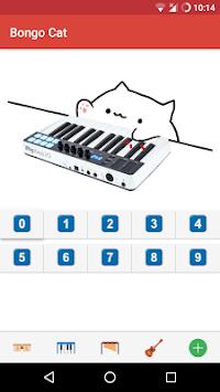 Bongo Cat - Musical Instruments APK screenshot 1