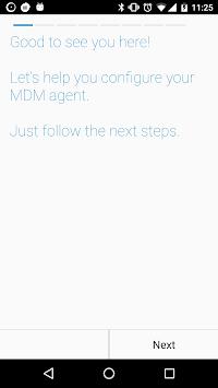cloud4mobile - MDM Agent APK screenshot 1