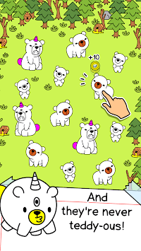 Bear Evolution - UnBEARably Fun Clicker Game APK screenshot 1