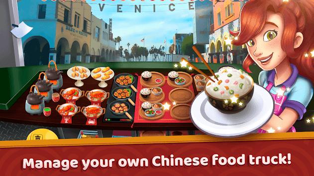 Chinese California Truck - Fast Food Cooking Game APK screenshot 1