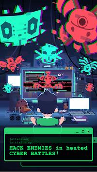 Hacking Hero - Cyber Adventure Clicker APK screenshot 1