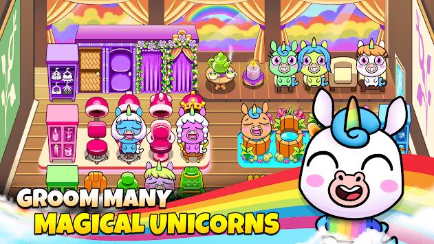 My Unicorn Virtual Pet - Cute Animal Care Game APK screenshot 1