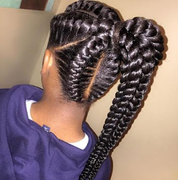 Braided Hairstyles APK screenshot 1