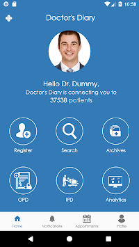Doctor's Diary APK screenshot 1