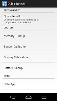 Quick TuneUp-Phone Calibration APK screenshot 1