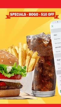 King Fast Food Coupons – Burger King, Pizza APK screenshot 1