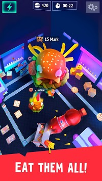 Burger.io: Devour Burgers in Fun IO Game APK screenshot 1