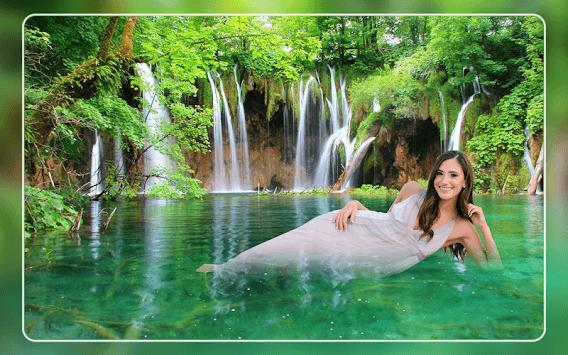 Waterfall Photo Frames 2018 APK screenshot 1