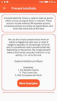 English Grammar - IELTS APK screenshot 1