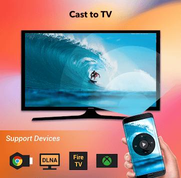 Cast to TV - Chromecast, Roku, cast videos to tv APK screenshot 1