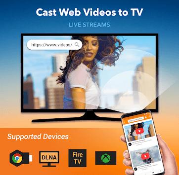 Cast to Chromecast & TV APK screenshot 1