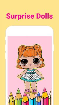 Dolls Surprise Coloring Page Lol 2019 APK screenshot 1