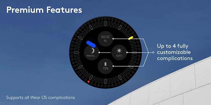 Solid Watch Face APK screenshot 1