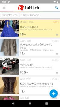 tutti.ch - Free Classifieds APK screenshot 1