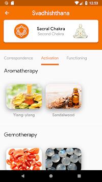 🧘 CHAKRAS - Meditation, Activation and Healing APK screenshot 1