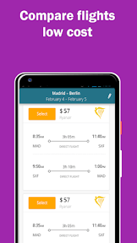 CheapFlights Compare | Cheapest Airfare Tickets APK screenshot 1