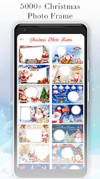 Christmas Photo Frame - Photo Editor 2019 APK screenshot 1
