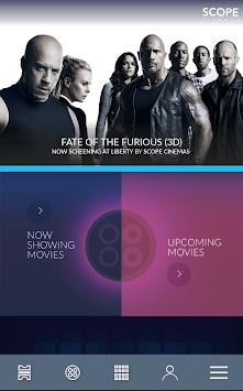 Scope Cinemas - Movie Tickets APK screenshot 1