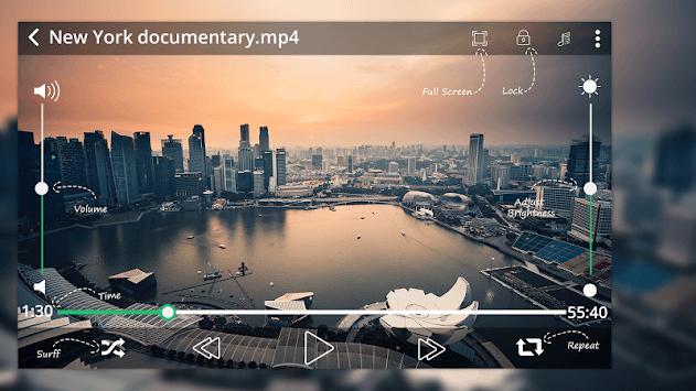 MAX Player - HD Video Player 2018 APK screenshot 1