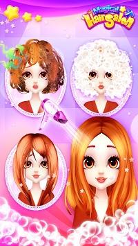 Magical Hair Salon: Girl Makeover APK screenshot 1