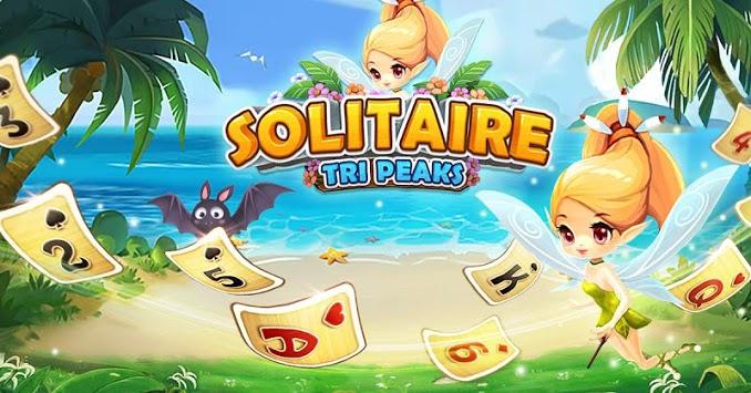 Solitaire TriPeaks - Fun Club APK screenshot 1