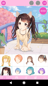 Sweet Lolita Avatar: Make Your Own Lolita Avatar APK screenshot 1