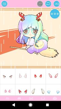 Pastel Chibi Maker: Make Your Own Pastel Chibi APK screenshot 1