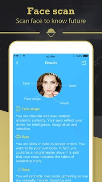 Face Scan - Face Analysis, Predict Baby & Fortune APK screenshot 1